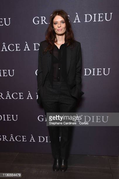 7b17e1c4099af Actress Amelie Daure attends the  Grace A Dieu  Premiere at Mk2  Bibliotheque on February
