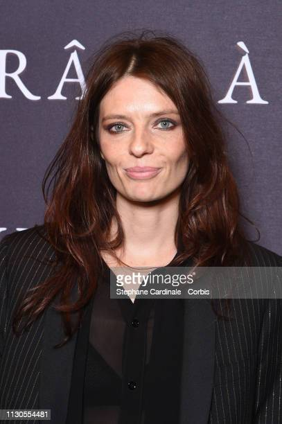 Actress Amelie Daure attends the 'Grace A Dieu' Premiere at Mk2 Bibliotheque on February 18 2019 in Paris France