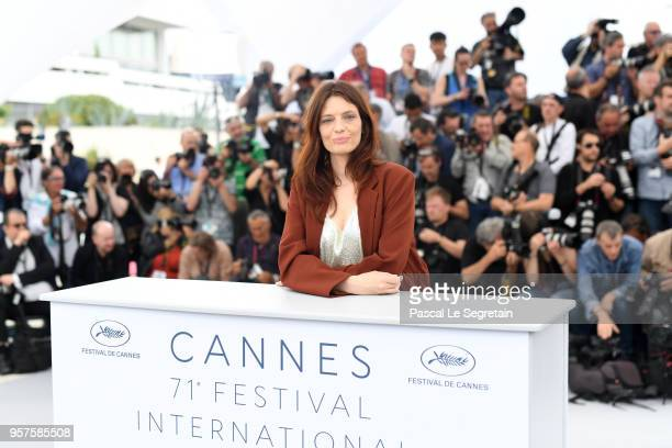 Actress Amelie Daure attends the photocall for 'Angel Face ' during the 71st annual Cannes Film Festival at Palais des Festivals on May 12 2018 in...