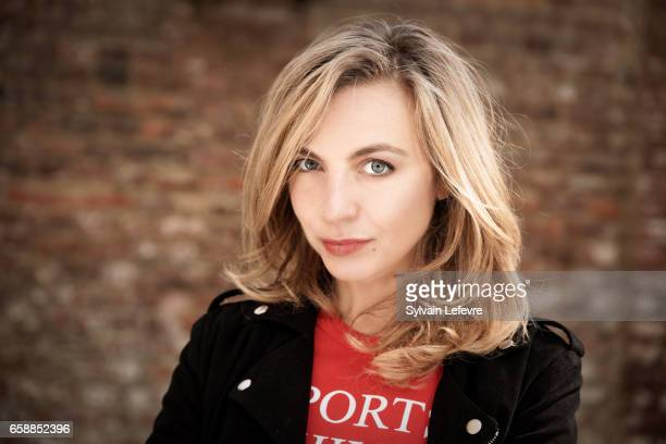 Actress Amelie Etasse is photographed for Self Assignment on March 17 2017 in Valenciennes France