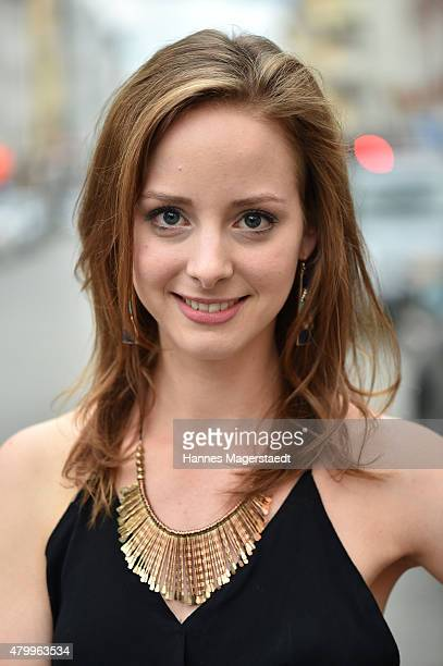 Actress Amelie PlaasLink attends 'About a girl' German Premiere at ARRI Kino on July 8 2015 in Munich Germany