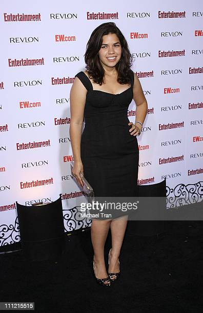 Actress America Ferrera arrives at the Entertainment Weekly's 5th Annual Pre-Emmy Party at Opera and Crimson on September 15, 2007 in Hollywood,...