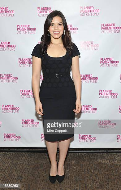 Actress America Ferrera attends Planned Parenthood Action Fund's Playing Politics With Women's Health The 2012 Election And Why It Matters at W Times...