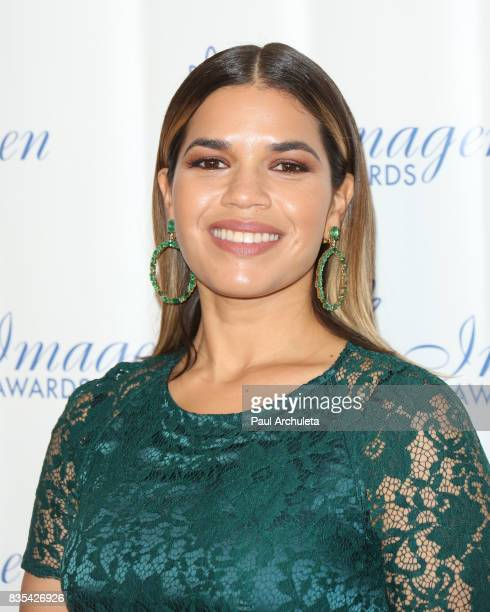 Actress America Ferrera attends the 32nd Annual Imagen Awards at the Beverly Wilshire Four Seasons Hotel on August 18 2017 in Beverly Hills California