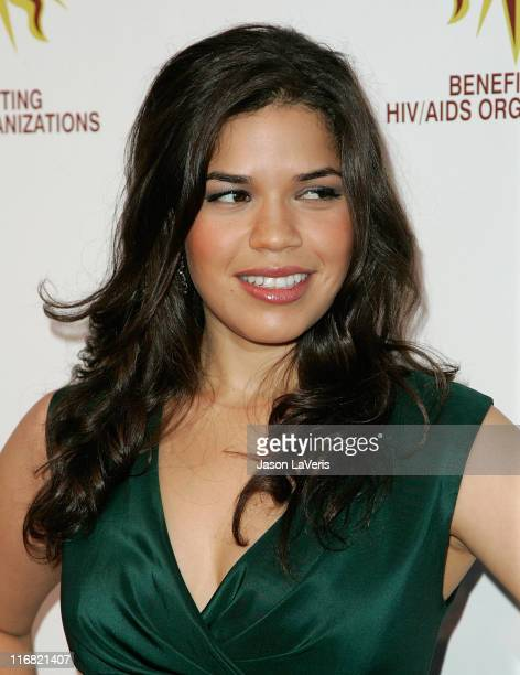 Actress America Ferrera attends the 3rd annual 'Hot In Hollywood' event at The Avalon on August 16 2008 in Hollywood California
