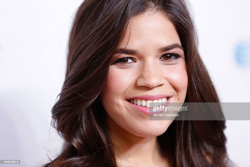 Actress America Ferrera attends the 5th Annual Women In The World Summit at the David Koch Theatre at Lincoln Center on April 3, 2014 in New York City.