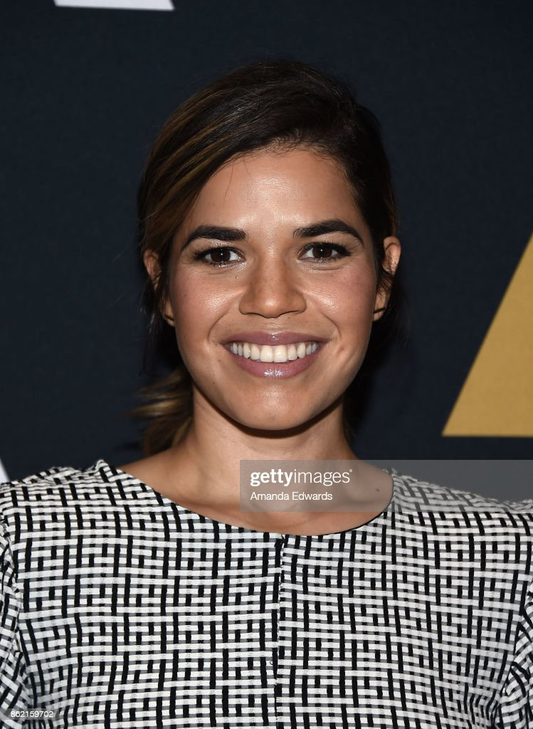 Actress America Ferrera attends The Academy's 'Real Women Have Curves' screening and conversation at the Academy of Motion Picture Arts and Sciences on October 16, 2017 in Los Angeles, California.