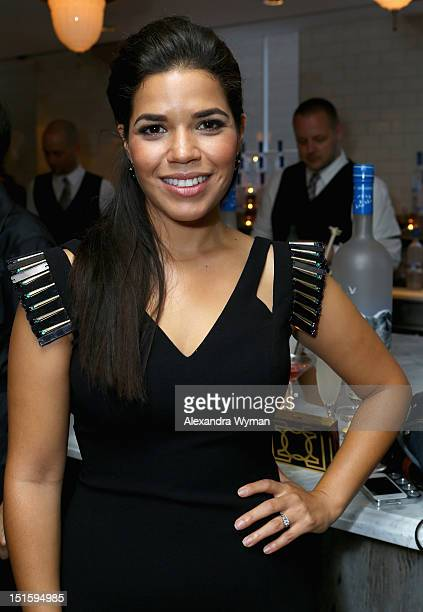 Actress America Ferrera attends the Grey Goose Vodka party for the End of Watch at Soho House Toronto on September 8 2012 in Toronto Canada