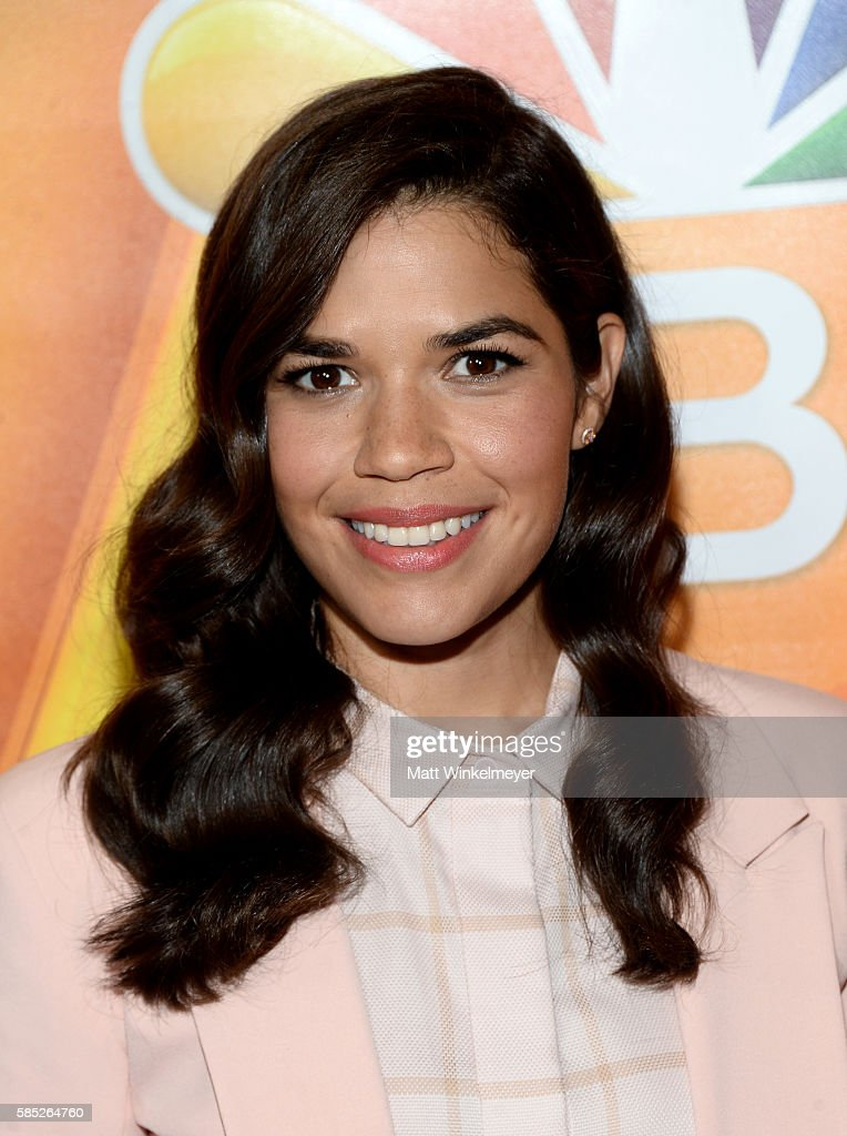 Actress America Ferrera attends the NBCUniversal press day during the 2016 Summer TCA Tour at The Beverly Hilton Hotel on August 2, 2016 in Beverly Hills, California.