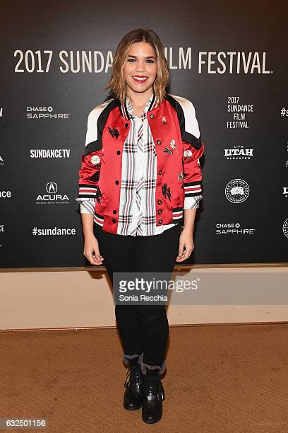 Actress America Ferrera attends the Short Form Episodic Showcase at Egyptian Theatre on January 23 2017 in Park City Utah
