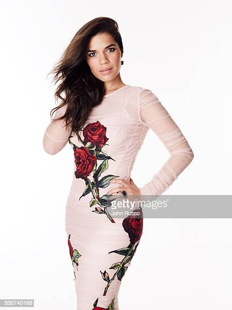 Actress America Ferrera is photographed for Latina Magazine on October 1 2015 in Los Angeles California