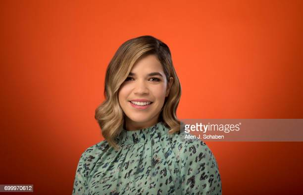 Actress America Ferrera is photographed for Los Angeles Times on June 13 2017 in Los Angeles California PUBLISHED IMAGE CREDIT MUST READ Allen J...