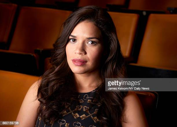 Actress America Ferrera is photographed for NY Daily News on October 16 in New York City