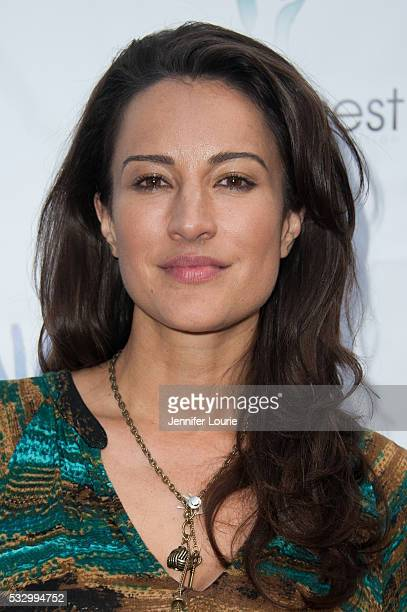 Actress America Olivo arrives at the 2nd Annual 'Let's Make A Baby' Fundraiser Gala on May 19 2016 in Toluca Lake California
