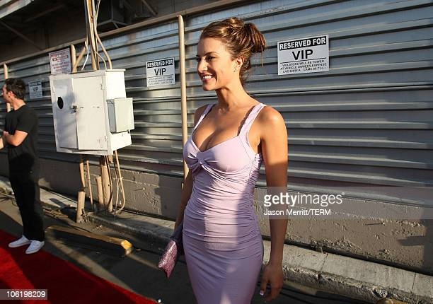 Actress America Olivo at Hollywood Life Magazine's 10th Annual Young Hollywood Awards hosted by Crest White Strips at Avalon on April 27 2008 in...