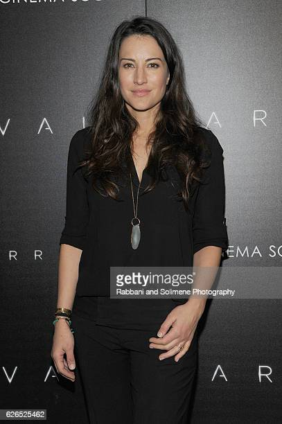 Actress America Olivo attends a screening of Paramount Pictures' 'Arrival' hosted by Spike Jonze and the Cinema Society at The Metrograph on November...