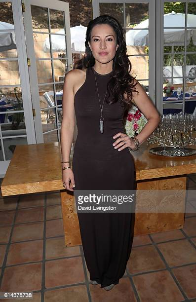 Actress America Olivo attends Baby Quest Foundation's Inaugural BabyQuest Friendraiser at a private residence on October 13 2016 in Los Angeles...