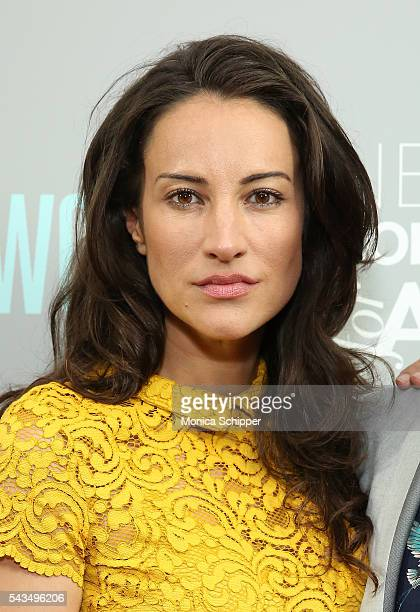 Actress America Olivo attends 'The A Word' New York screening at Museum Of Arts And Design on June 28 2016 in New York City