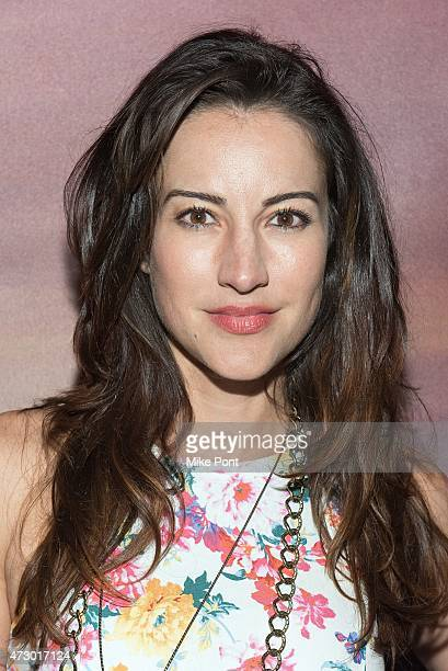 Actress America Olivo attends the 'I'll See You In My Dreams' New York screening at Tribeca Grand Screening Room on May 11 2015 in New York City