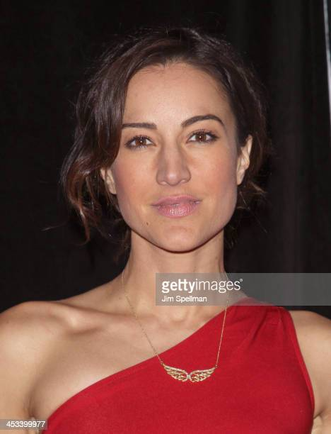 Actress America Olivo attends the 'Lone Survivor' New York premiere at Ziegfeld Theater on December 3 2013 in New York City