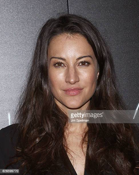 Actress America Olivo attends the screening of Paramount Pictures' 'Arrival' hosted by Spike Jonze and The Cinema Society at The Metrograph on...