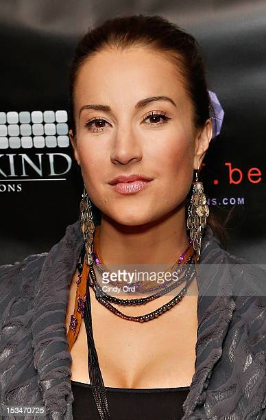 Actress America Olivo attends the 'Someday This Pain Will Be Useful To You' New York Screening at Village East Cinema on October 5 2012 in New York...