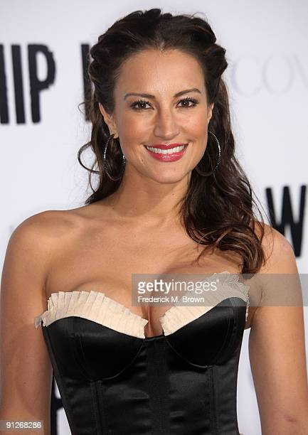 Actress America Olivo attends the 'Whip It' film premiere at Grauman's Chinese Theatre on September 29 2009 in Los Angeles California