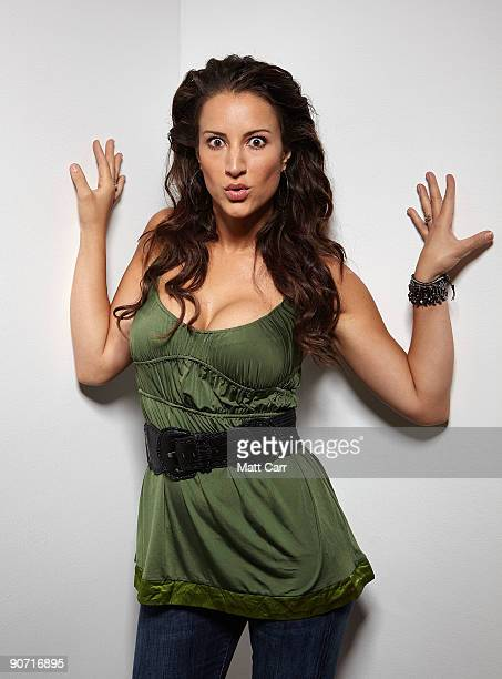 Actress America Olivo from the film 'Bitch Slap' poses for a portrait during the 2009 Toronto International Film Festival at The Sutton Place Hotel...