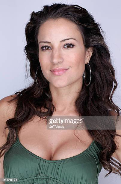 Actress America Olivo poses for a portrait during the 2009 Toronto International Film Festival held at the Sutton Place Hotel on September 13 2009 in...