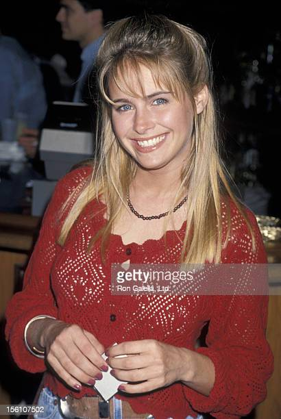 Actress Ami Dolenz attending 'American Diabetes Association Celebrity Waiters Luncheon' on May 14 1994 at Denim and Diamonds in Santa Monica...