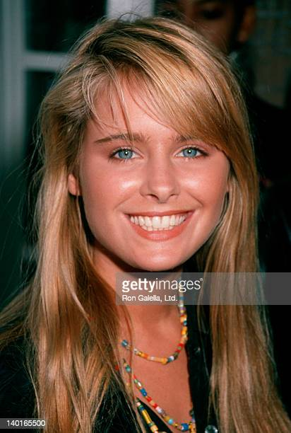 Actress Ami Dolenz attending 'Children's Treasure Chest Benefit' on August 19 1990 at Q's Billiard Club in Brentwood California