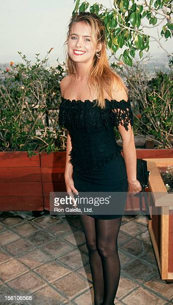 Actress Ami Dolenz attending 'John Gary Benefit' on June 11 1991 at the Bel Age Hotel in Hollywood California