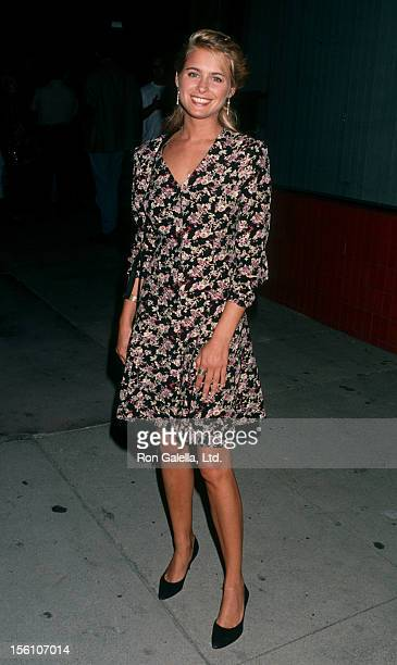 Actress Ami Dolenz attending Second Annual Celebrity Pool Tournament Benefiting AIDS Project Los Angeles on June 19 1993 at the Hollywood Athletic...