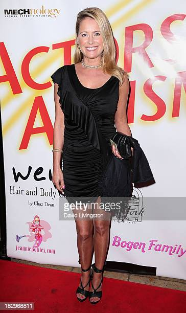 Actress Ami Dolenz attends Actors for Autism and Rockwell Table Stage presents Reach for the Stars at Rockwell Table Stage on October 2 2013 in Los...