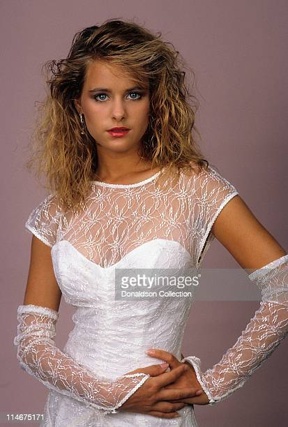 Actress Ami Dolenz poses for a portrait in circa 1985 in Los Angeles California