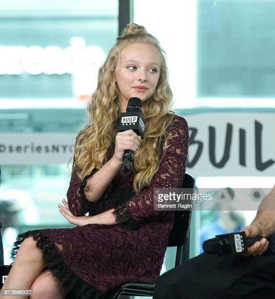 Actress Amiah Miller attends Build to discuss 'War For The Planet Of The Apes' at Build Studio on July 11 2017 in New York City