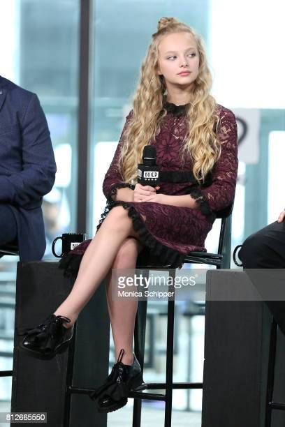 Actress Amiah Miller discusses 'War For The Planet Of The Apes' at Build Studio on July 11 2017 in New York City