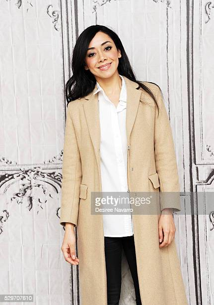 Actress Amiee Garcia attends AOL Build Speaker Series Aimee Garcia 'Rush Hour' at AOL Studios In New York on May 9 2016 in New York City