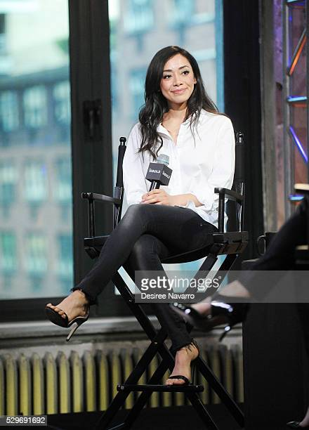 Actress Amiee Garcia attends the AOL Build Speaker Series to discuss 'Rush Hour' at AOL Studios In New York on May 9 2016 in New York City