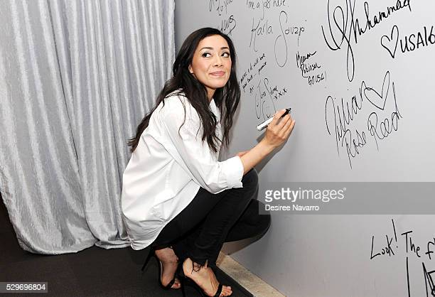 Actress Amiee Garcia attends the AOL Build Speaker Seriesto discuss 'Rush Hour' at AOL Studios In New York on May 9 2016 in New York City