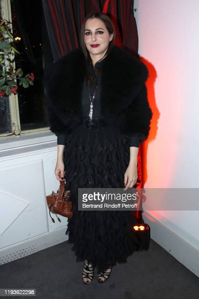 Actress Amira Casar attends the Annual Charity Dinner hosted by the AEM Association Children of the World for Rwanda AIn on December 12 2019 in Paris...