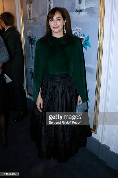 Actress Amira Casar attends the Annual Charity Dinner hosted by the AEM Association Children of the World for Rwanda at Pavillon Ledoyen on December...