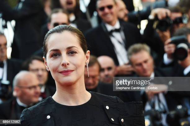 Actress Amira Casar attends the Closing Ceremony during the 70th annual Cannes Film Festival at Palais des Festivals on May 28 2017 in Cannes France