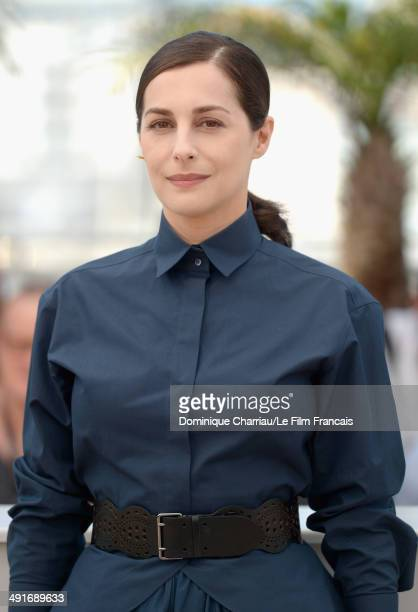 Actress Amira Casar attends the Saint Laurent photocall at the 67th Annual Cannes Film Festival on May 17 2014 in Cannes France
