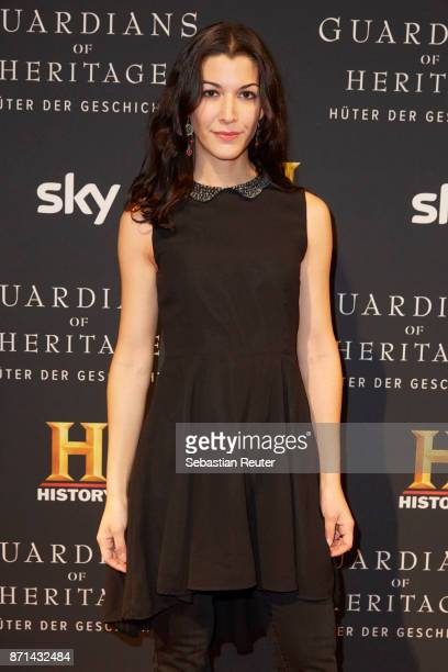 Actress Amira El Sayed attends the preview screening of the new documentary 'Guardians of Heritage Hueter der Geschichte' by German TV channel...