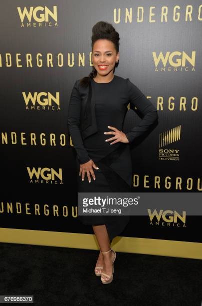 """Actress Amirah Vann attends a For Your Consideration event for WGN America's """"Underground"""" at The Landmark on May 2, 2017 in Los Angeles, California."""