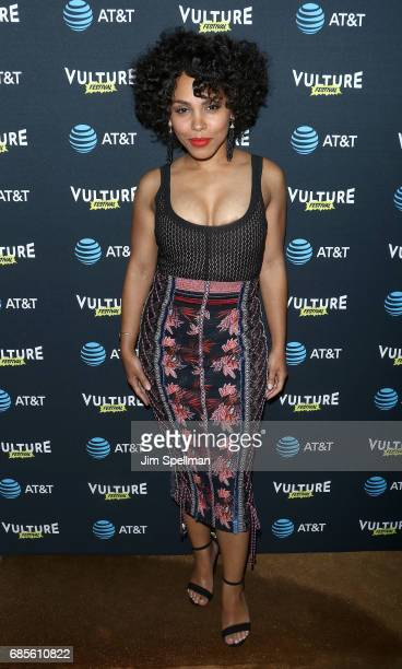 Actress Amirah Vann attends the 2017 Vulture Festival kick off party at The Top of The Standard at The Standard High Line on May 19 2017 in New York...