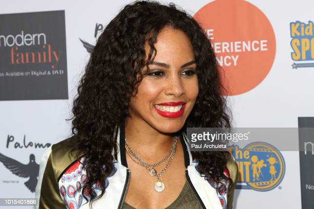Actress Amirah Vann attends the 'Kids In The Spotlight' Cocktails for a Cause at Paloma on August 11 2018 in Los Angeles California