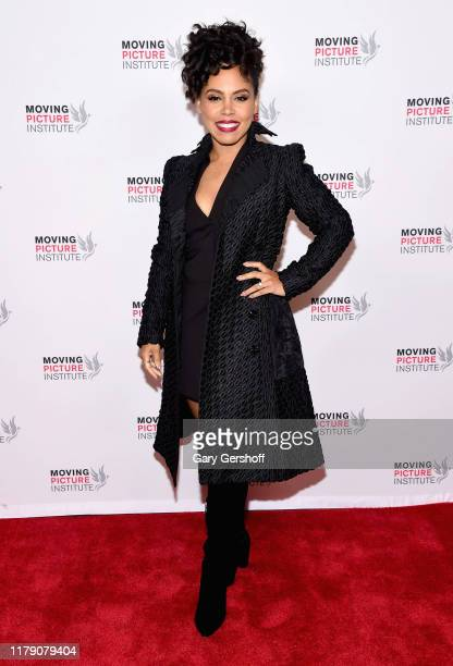 Actress Amirah Vann attends the Miss Virginia New York Premiere at SVA Theater on October 04 2019 in New York City