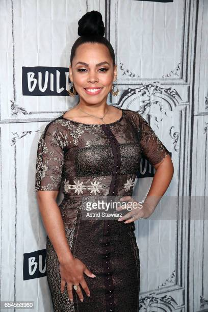 Actress Amirah Vann visits Build series to discuss the WGN America show Underground at Build Studio on March 17 2017 in New York City